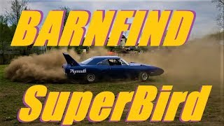 '70 Plymouth SuperBird BarnFind! Rescued & First Drive!