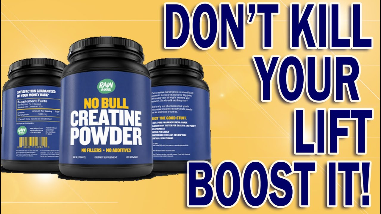 4 reasons creatine will help you build muscle faster - no bull