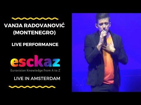 ESCKAZ in Amsterdam: Vanja Radovanović (Montenegro) - Inje