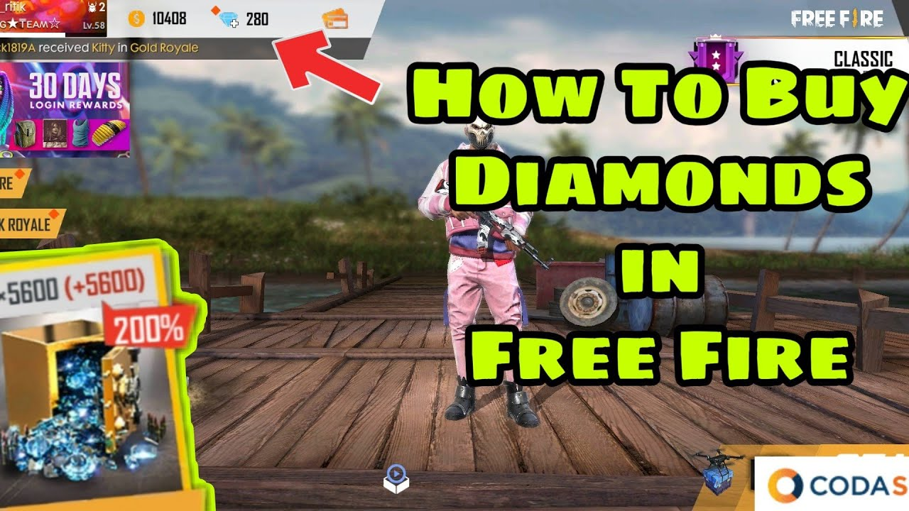 HOW TO BUY DIAMOND IN FREEFIRE /CODASHOP |GARENA