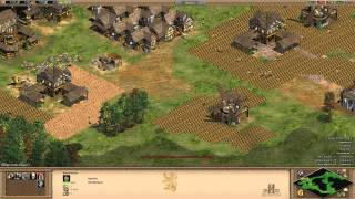 Age of Empires II HD: Aufbau-Tutorial (Mittelalter-Rush) [German][HD]