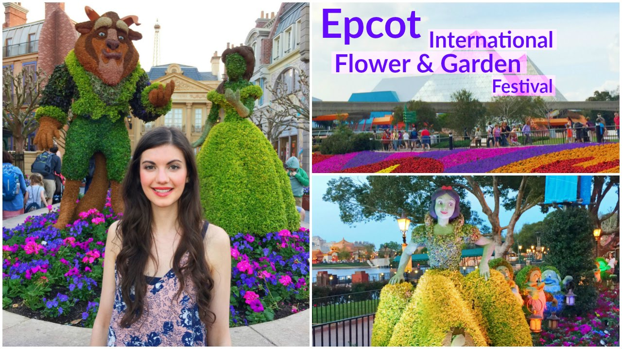 2016 Epcot International Flower And Garden Festival Disney World Youtube