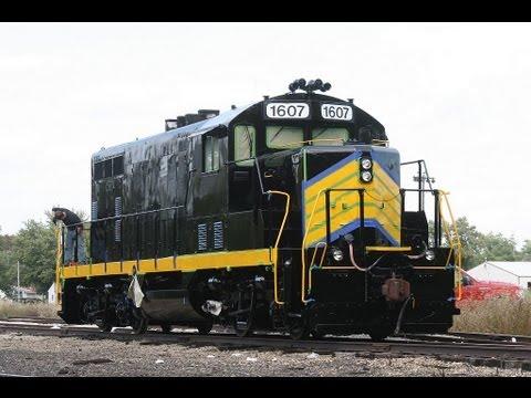 Central Illinois Shortline Railroads Illinois Midland, Decatur Junction, Vandalia Railroad.