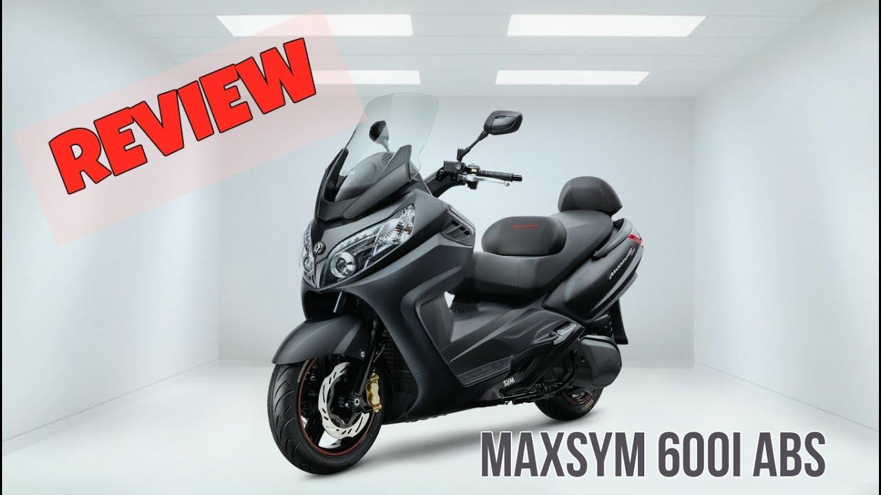 SYM - Max Sym 600i ABS - Review