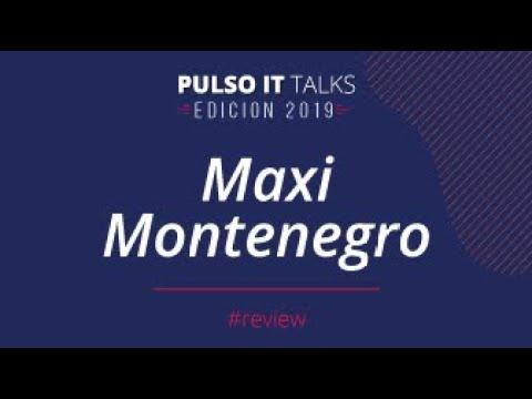 Charla de Maximiliano Montenegro en Pulso It 2019