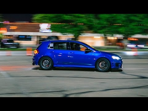 Miliseconds from first place!   WTR SCCA   MK7 Golf R
