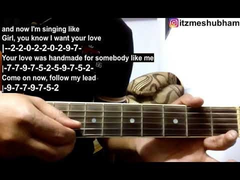 Shape Of You (Single String) Guitar Tabs Tutorial | Ed Sheeran | Shubham Joshi