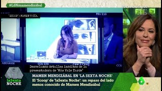 El 'scoop' de laSexta Noche: un repaso del lado menos conocido de Mamen Mendizábal