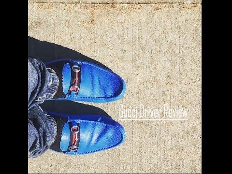 732e3a8f1a5 Gucci Drivers Shoe Review - YouTube
