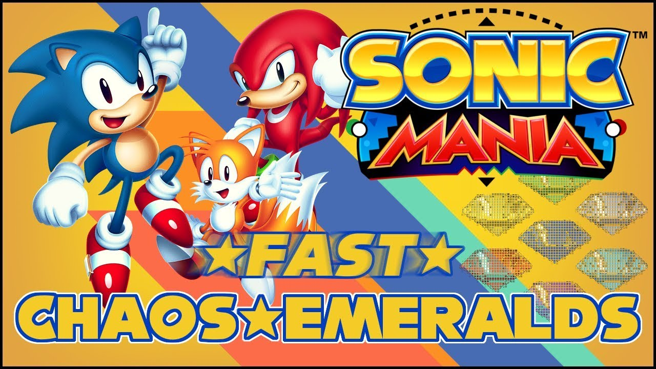 Chaos Emeralds - Sonic Mania Wiki Guide - IGN