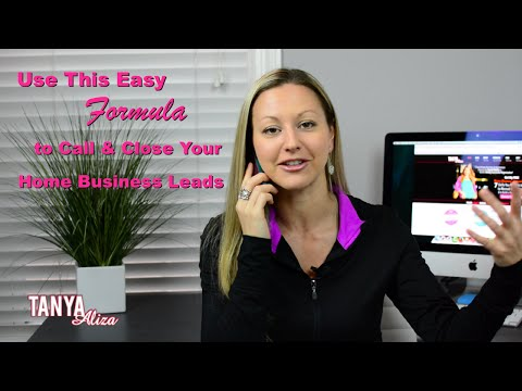 Calling & Closing Your Home Business Leads – Use This Easy Formula