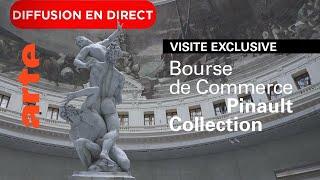 Visite Live Exclusive De La Bourse De Commerce