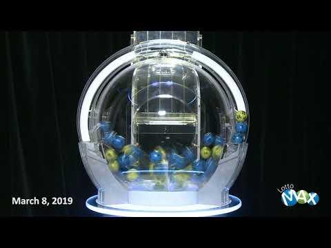 Lotto Max Draw, - March 8, 2019