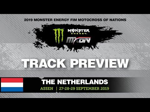 GoPro Track Preview - Monster Energy FIM MXoN 2019 - #motocross