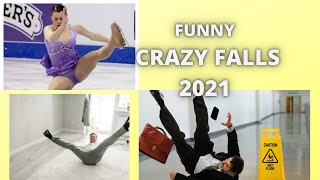 BEST SPORTS FAILS OF THE YEAR 2021. FUNNY FAILS IN SPORTS compilation.
