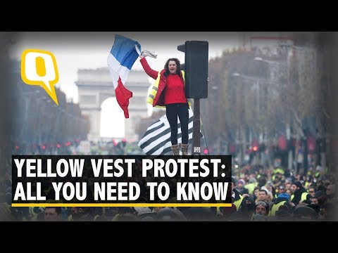 What Are The 'Yellow Vest' Protests Currently Rocking France?   The Quint