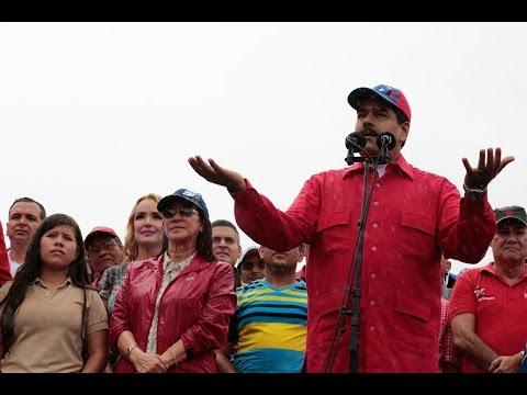 Presidente Maduro en la marcha antiimperialista en Los Próceres, 9 marzo 2017, completo