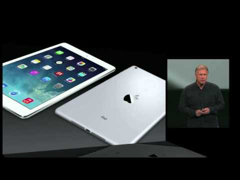 Apple iPad Air & iPad Mini Retina official presentation - Keynote 22 October 2013