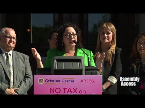 No Tax on Tampons, Period!