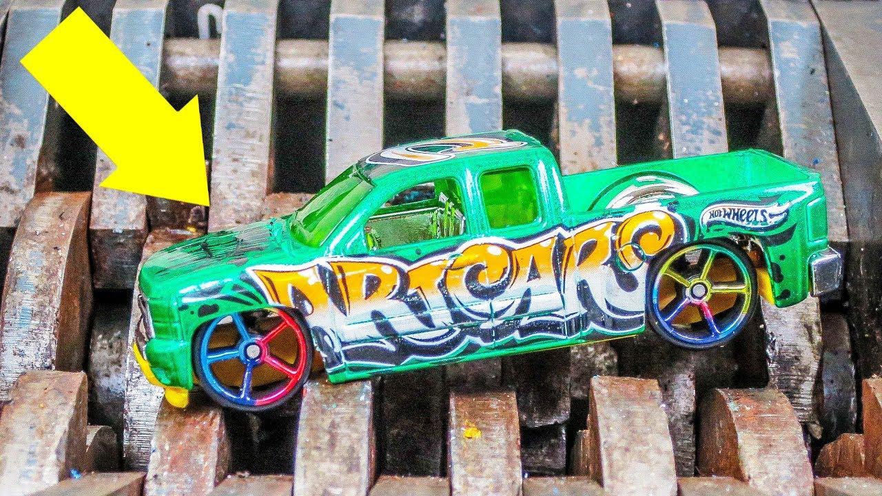 shredding hot wheels art cars 2 what 39 s inside youtube. Black Bedroom Furniture Sets. Home Design Ideas