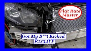 Got my B**t Kicked on a R1234yf System