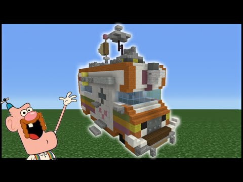 Minecraft Tutorial: How To Make The Uncle Grandpa RV
