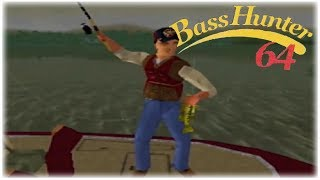 In-Fisherman Bass Hunter 64 Nintendo 64 Gameplay Walkthrough Part 12 - Tournament 9 Day 2!