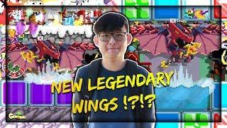 HANYA ADA 1 DI GAME !?!? LEHNWA REVIEW LEGENDARY DRAGON WINGS TERBARU !! - Growtopia Indonesia