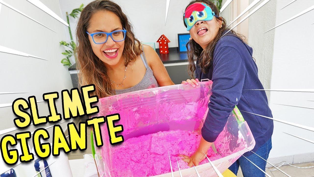 fizemos-um-slime-gigante-de-presente-para-juliana-baltar-kids-fun