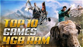 TOP 10 Best PC Games for 4GB RAM
