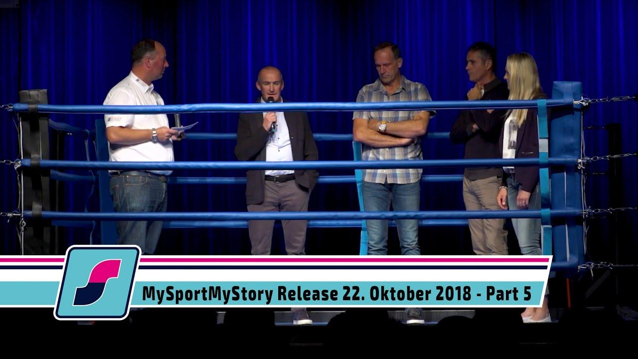 MySportMyStory Release am 22. Oktober 2018 - Part 5 - Gesprächsrunde Mentoren