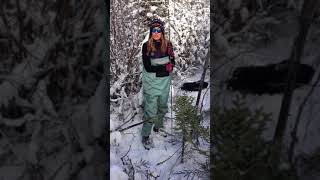 Merritt reports live from the field in the Northwest Territories about why we measure the depth of unfrozen ground.
