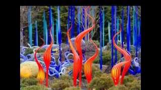 Волшебный мир Дэйва Чихули.(Волшебный мир фантастических растений и морских животных, созданный ярким воображением талантливого худо..., 2014-06-10T14:07:41.000Z)