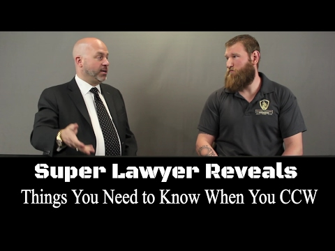 Top Defense Attorney Reveals the Most Important Things You Need to Know When You Conceal Carry