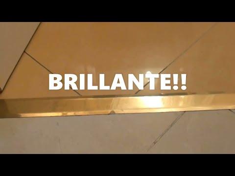 Como limpiar los embellecedores de juntas perfiles youtube - Como blanquear el piso de ceramica ...