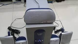 Loa vi tính Soundmax A9000 5.1 Bạc Đã qua sử dụng (Đã bán)