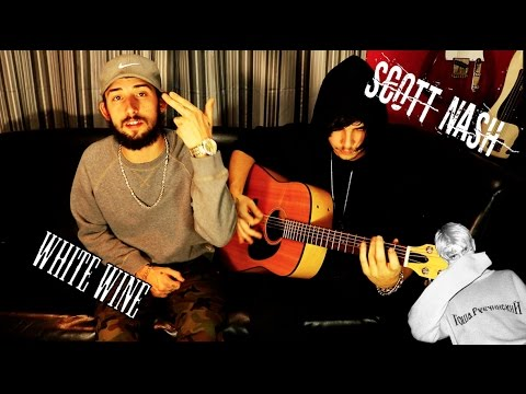 lil peep x lil tracy - white wine (live Acoustic cover) by Scott Nash