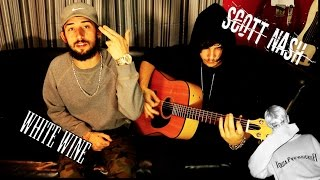 lil peep x lil tracy white wine live Acoustic cover by Scott Nash