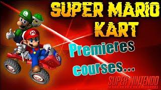 SUPER MARIO KART - Premières courses - Live Twitch