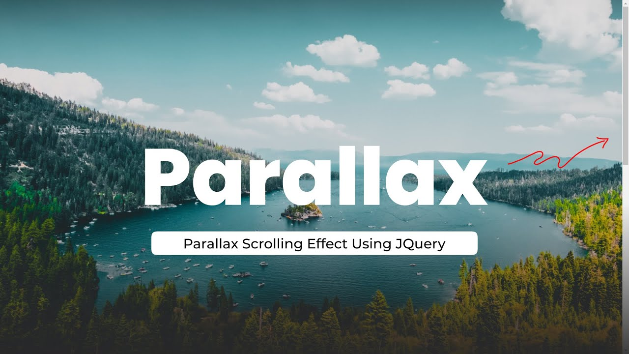 Simple Parallax Scrolling Effect with CSS & jQuery | Parallax Effect