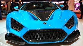 Супер и гиперкары ZENVO, Koenigsegg (Agera RS, Regera), Spyker + тюнинг DMC!) Женева, часть 7   )