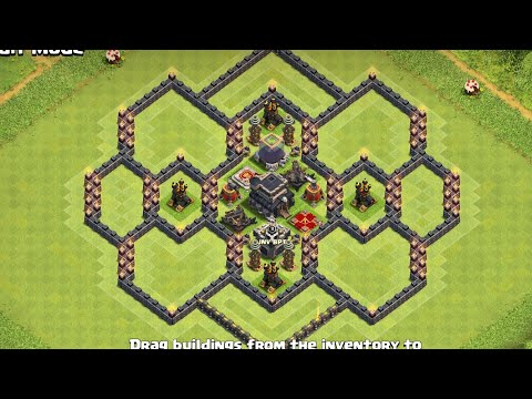 Townhall 9 Stylish Base Ever Clash Of Clan | Th9 Best Base Design | Best Coc Layout
