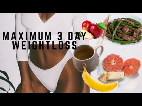 INSANE Military Diet Results in 3 Days | Lose Up To 10 Pounds + What I Ate | Nia Hope