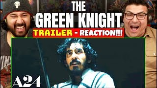 THE GREEN KNIGHT | Teaser TRAILER - REACTION!!! (A24)