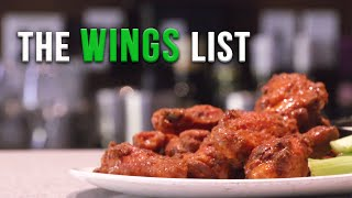 The Saucy Wings List