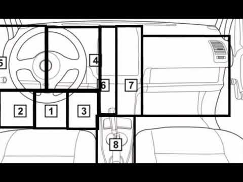 VW Crafter Siège Individuel Gurtstraffer Résistance conversion de 2 à 1