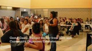 Community Forum at Social Justice High School in Chicago