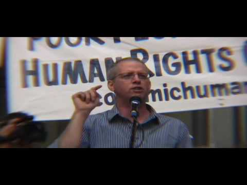 Ashley Smith Speech at The Peoples March Against t...