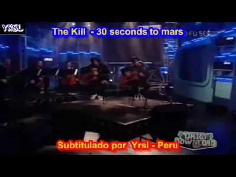 30 seconds to mars - the kill ( SUBTITULADA ESPAÑOL INGLES ...