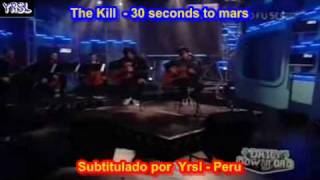 30 seconds to mars - the kill  ( SUBTITULADA ESPAÑOL INGLES )